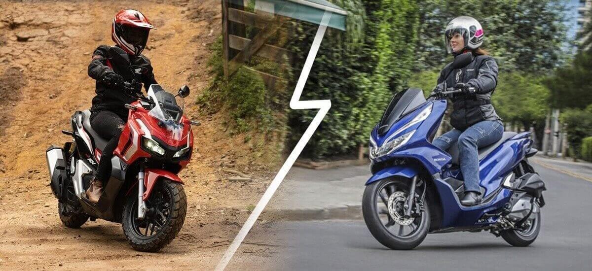 Qual a melhor PCX ou Honda ADV?